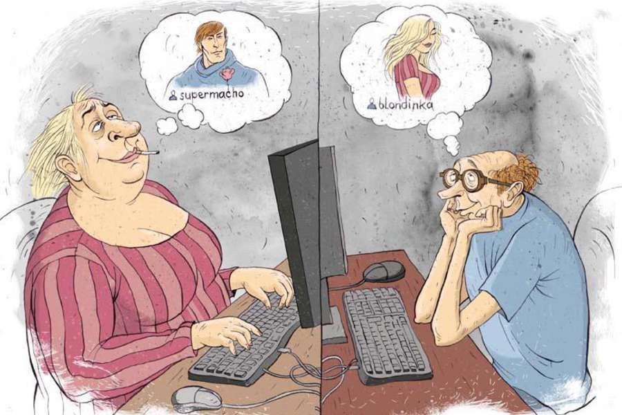 Online dating internet jokes