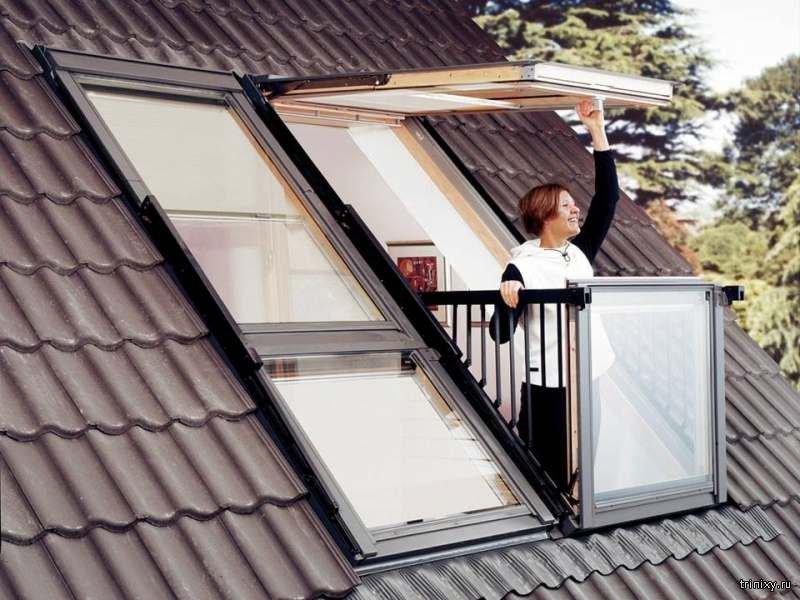 """Окно, которое превращается в балкон (8 фото) """" триникси."""