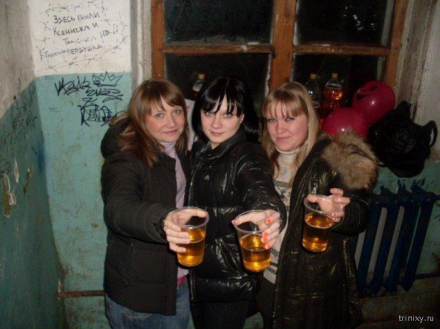 три подруги алкоголички картинка времена