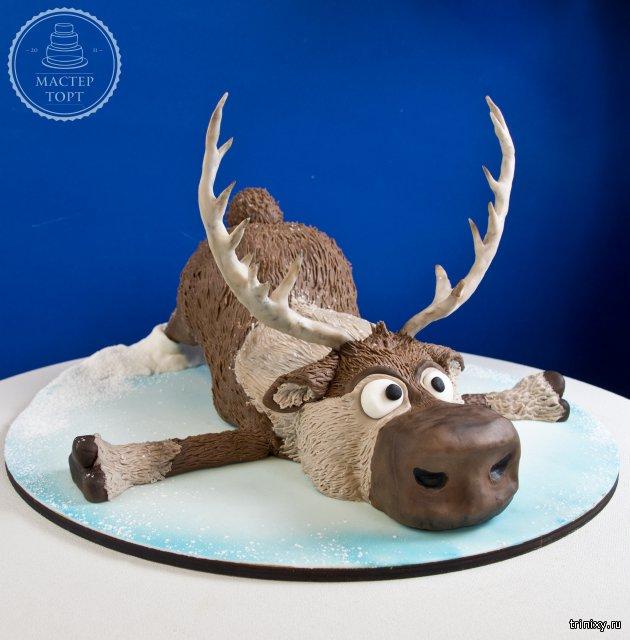 Торт с оленями картинки