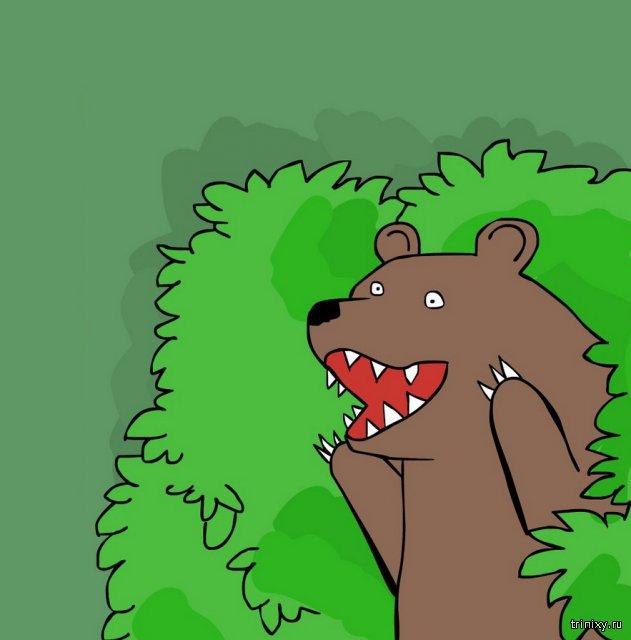 откуда пошел медведь шлюха