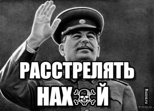 Сталин растрелять картинка